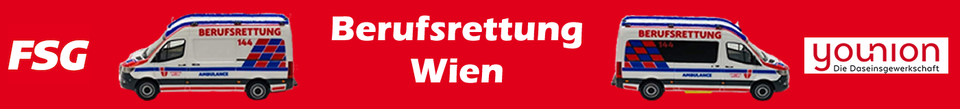 FSG Personalvertretung Berufsrettung Wien